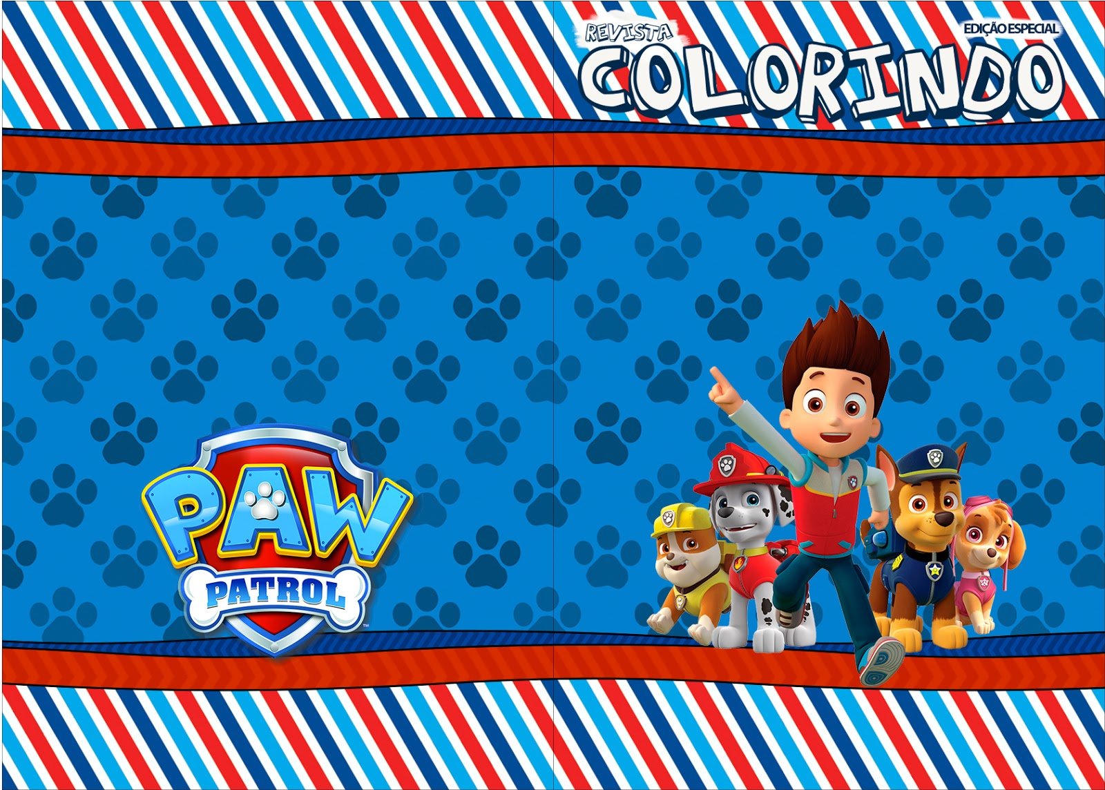 Paw Patrol: Free Party Printables. | Oh My Fiesta! in english
