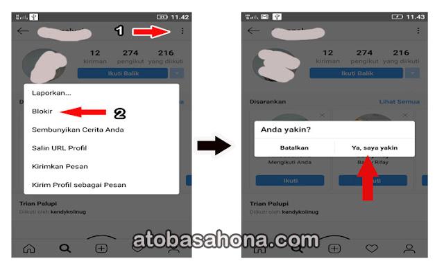 Cara Mudah dan Cepat Memblokir Seseorang di Instagram (IG) Melalui HP dan Website