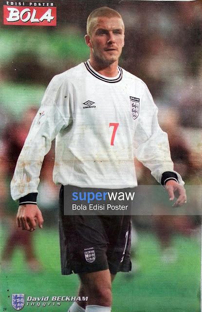 Poster David Beckham (Inggris)