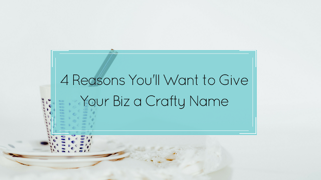 Crafty business, unique name