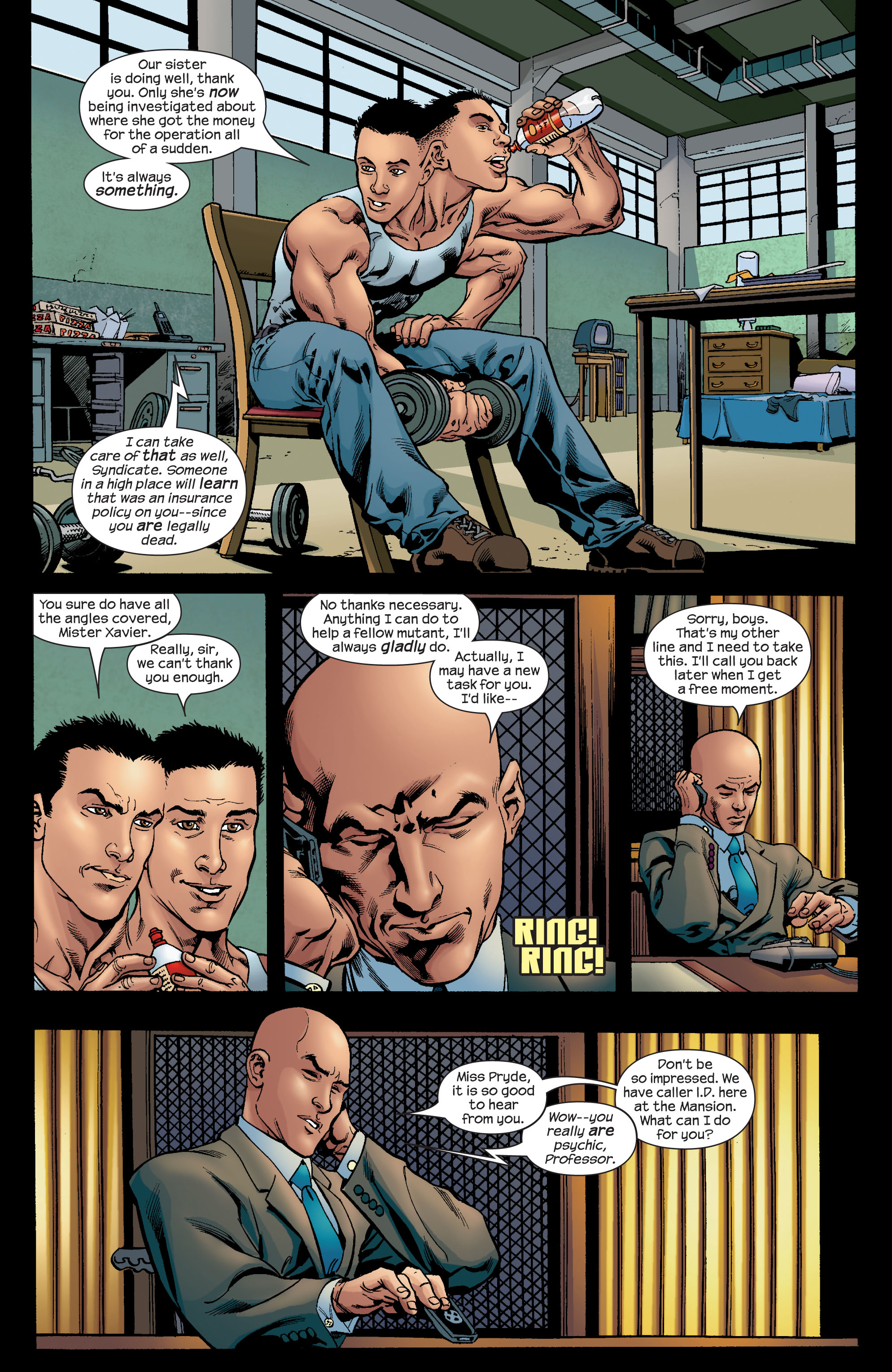 Read online Ultimate X-Men comic -  Issue #72 - 3