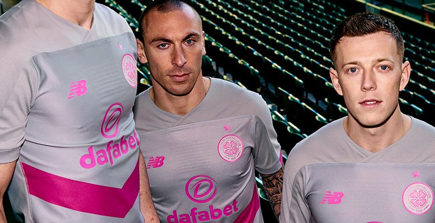 competitive price d3096 3b95c Crazy Celtic 19-20 Third Kit Released - Footy Headlines