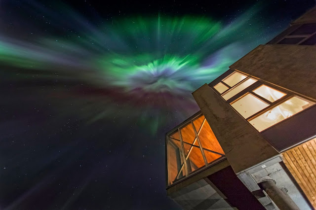 The Ion Hotel boosts a range of relaxing activities for guests to enjoy under the Northern Lights