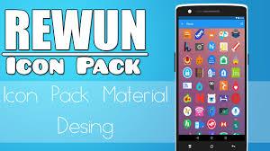 ဖုန္းမွာ Icon ဒီဇိုင္းအလန္းေလးနဲ႔လန္းႏိုင္မယ့္ - Rewun – Icon Pack v6.7.0 Apk