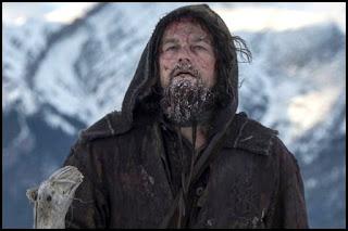 Leonardo DiCaprio en El renacido (Alejandro. G. Iñárritu, 2015)