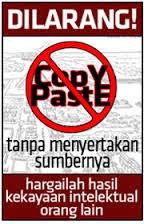 Dilarang Copy Paste