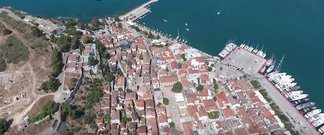 Η παλιά πόλη του Ναυπλίου όπως δεν την έχετε ξαναδεί (βίντεο)