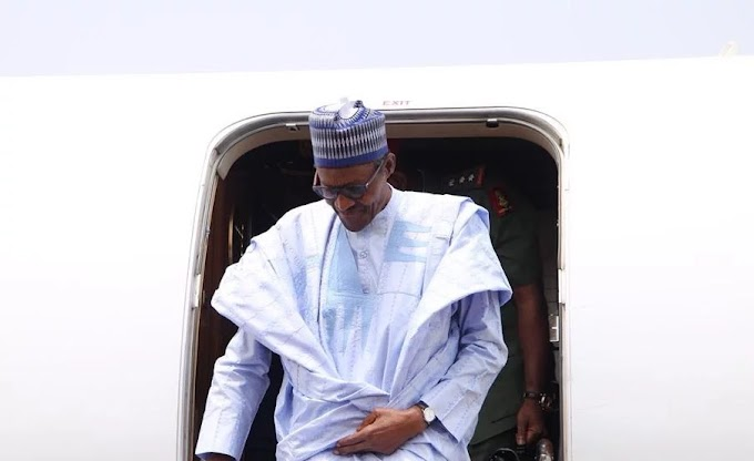 president buhari arrives Washington city