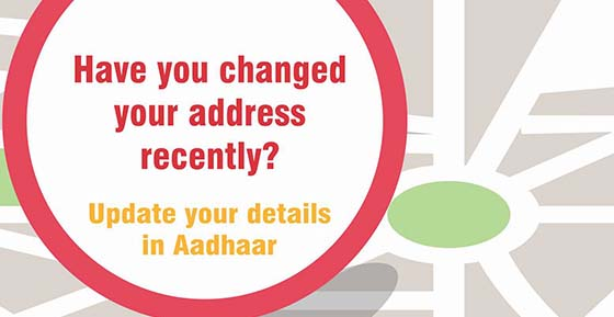 Update your details in Aadhaar like Photo, Iris Scan, Finger Prints, Name, Address etc.
