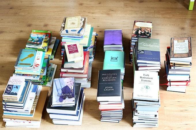 Ordenar libros Konmari