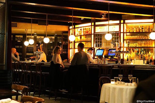Dining Area at Gaslight in Boston