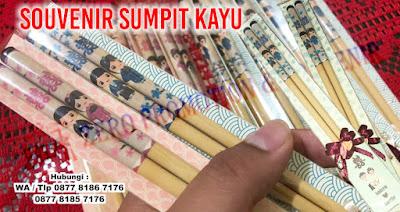 Souvenir Sumpit Kayu Promosi Online, wooden chopsticks, Promosi Sumpit Kayu Custom Termurah dan Tercepat, Souvenir Sumpit Kayu