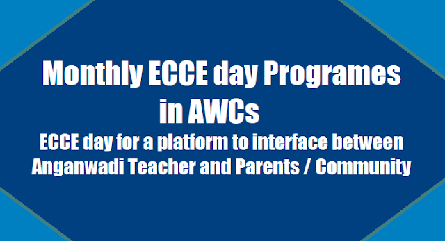 monthly ecce day programes in awcs - ecce day on school readiness utaavarn on 28.10..20l7, monthly ecce day for a platform to interface between anganwadi teacher and parents / community