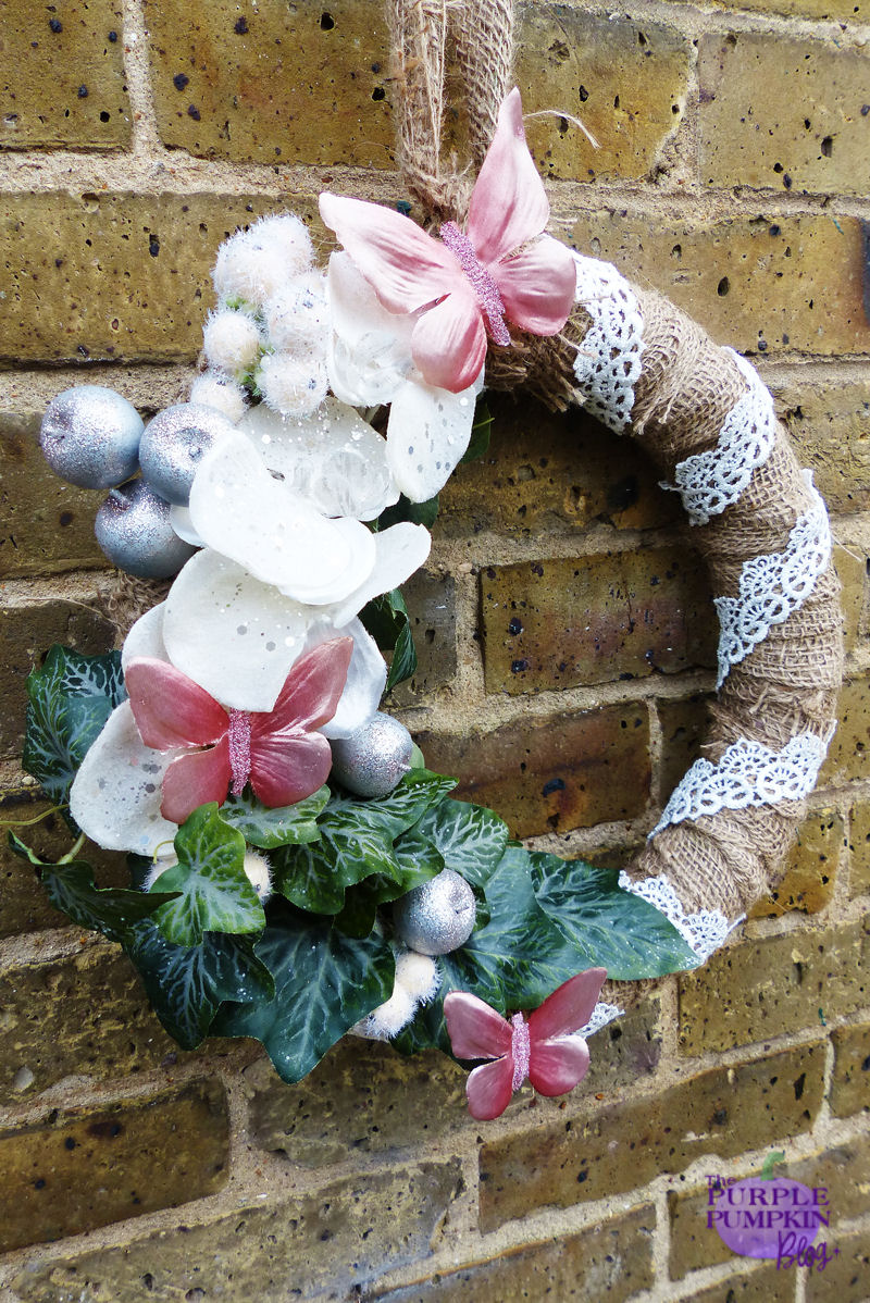 #Vintage #Christmas #Wreath | The Purple Pumpkin Blog