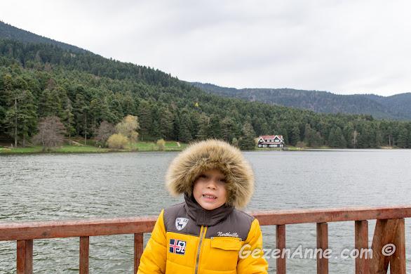 Bolu Gölcük Gölü gezimizde hava çok soğuktu