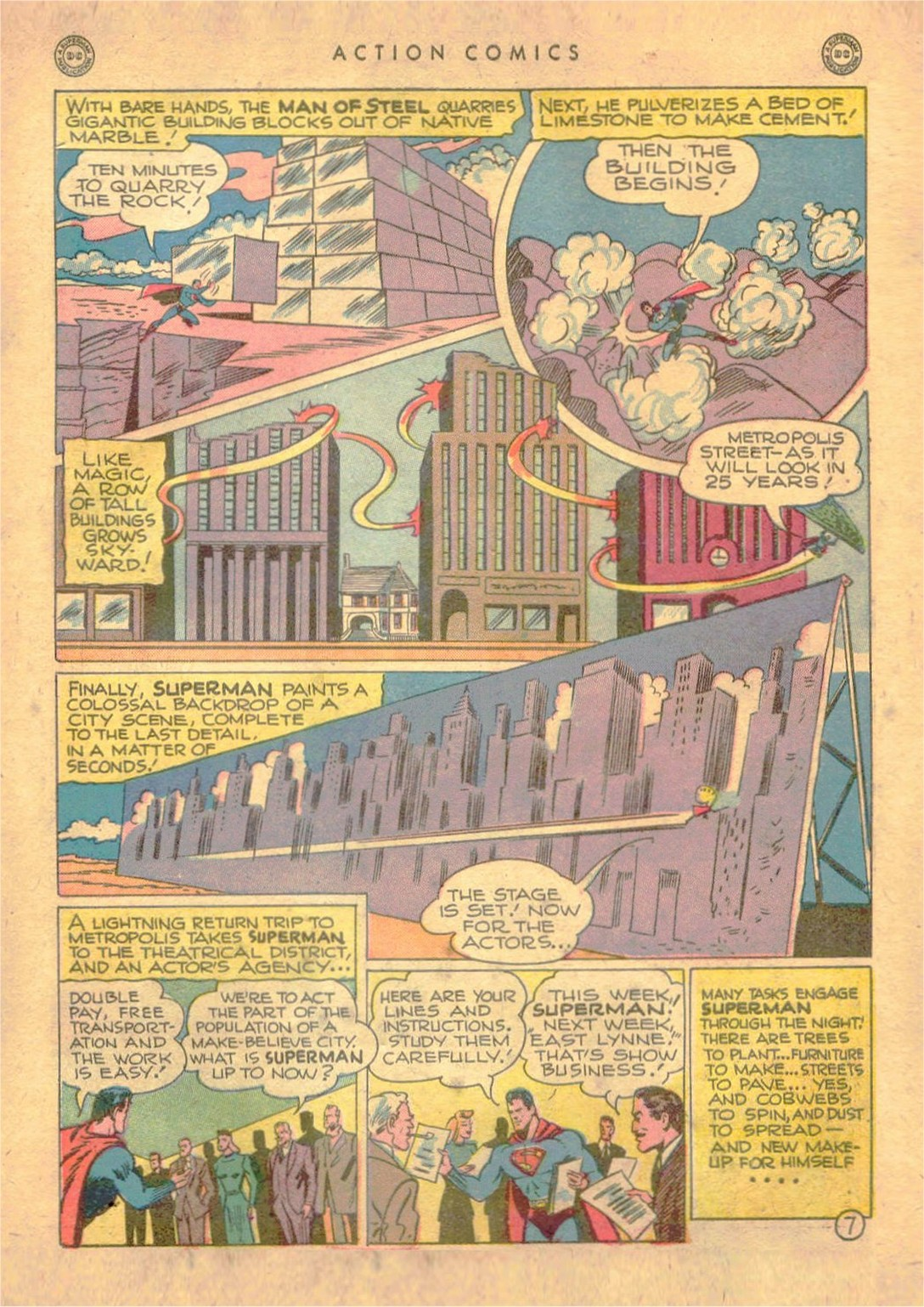 Read online Action Comics (1938) comic -  Issue #107 - 8