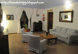 Sala de estar (Masía La Palma)