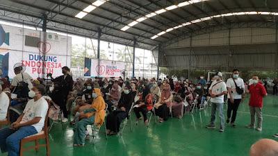 Yayasan Upaya Indonesia Damai  dan Gajah Tunggal Group Gelar Vaksinasi
