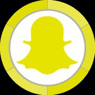 snapchat button icon
