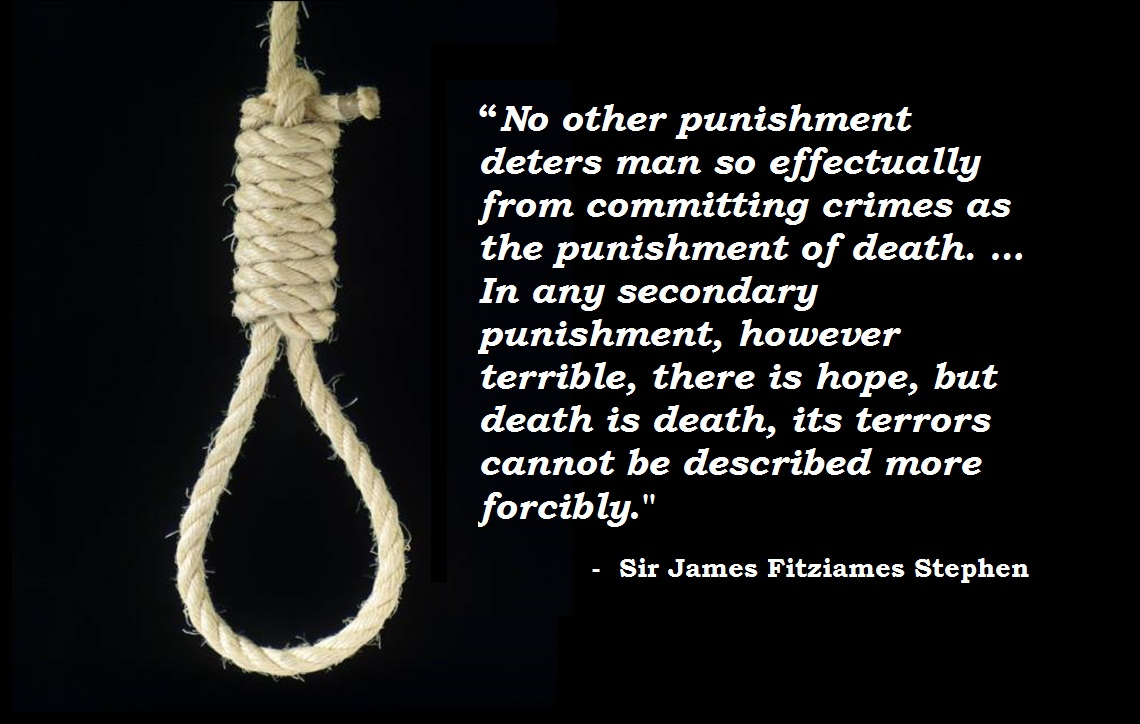 does capital punishment deter crime Nc coalition for alternatives to the death penalty wrongful capital prosecutions failure to deter crime.