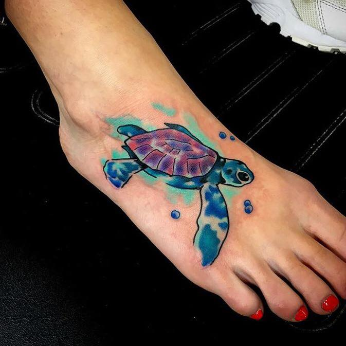 22 Most Common Turtle Tattoos Designs