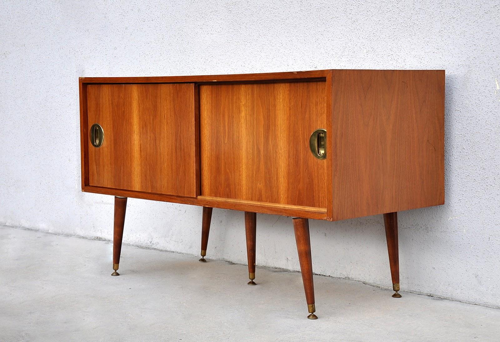 Mid Century Modern Walnut Credenza Cabinet2 2 - Mid Century Modern Wedding Dress