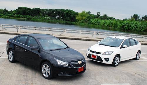 car fan club thailand chevrolet cruze 2 0 diesel vs ford focus 2 0 diesel. Black Bedroom Furniture Sets. Home Design Ideas