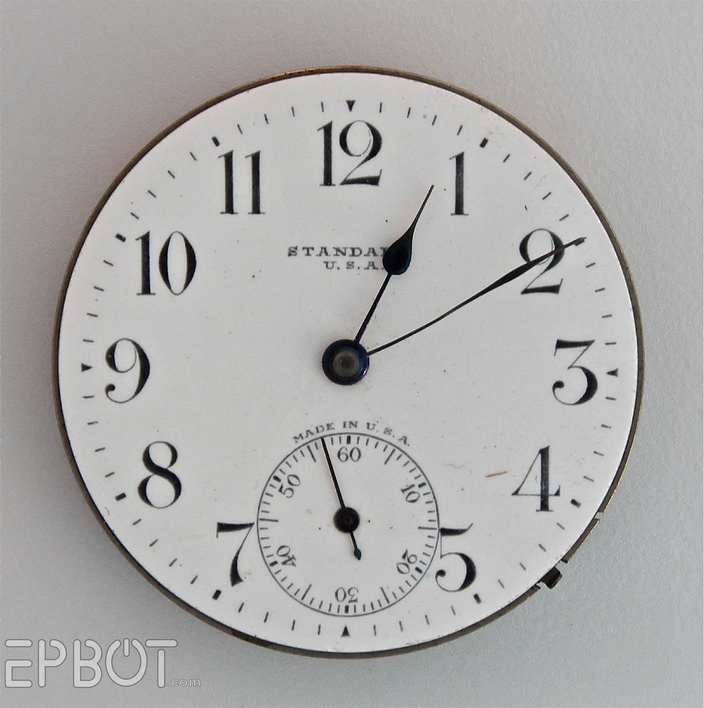 Epbot Printable Pocket Watch Faces