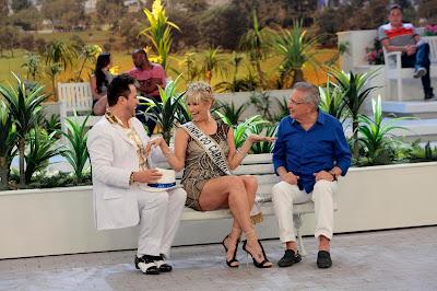 Gigi, A Nova Rica e Carlos Alberto (Crédito: Lourival Ribeiro/SBT)