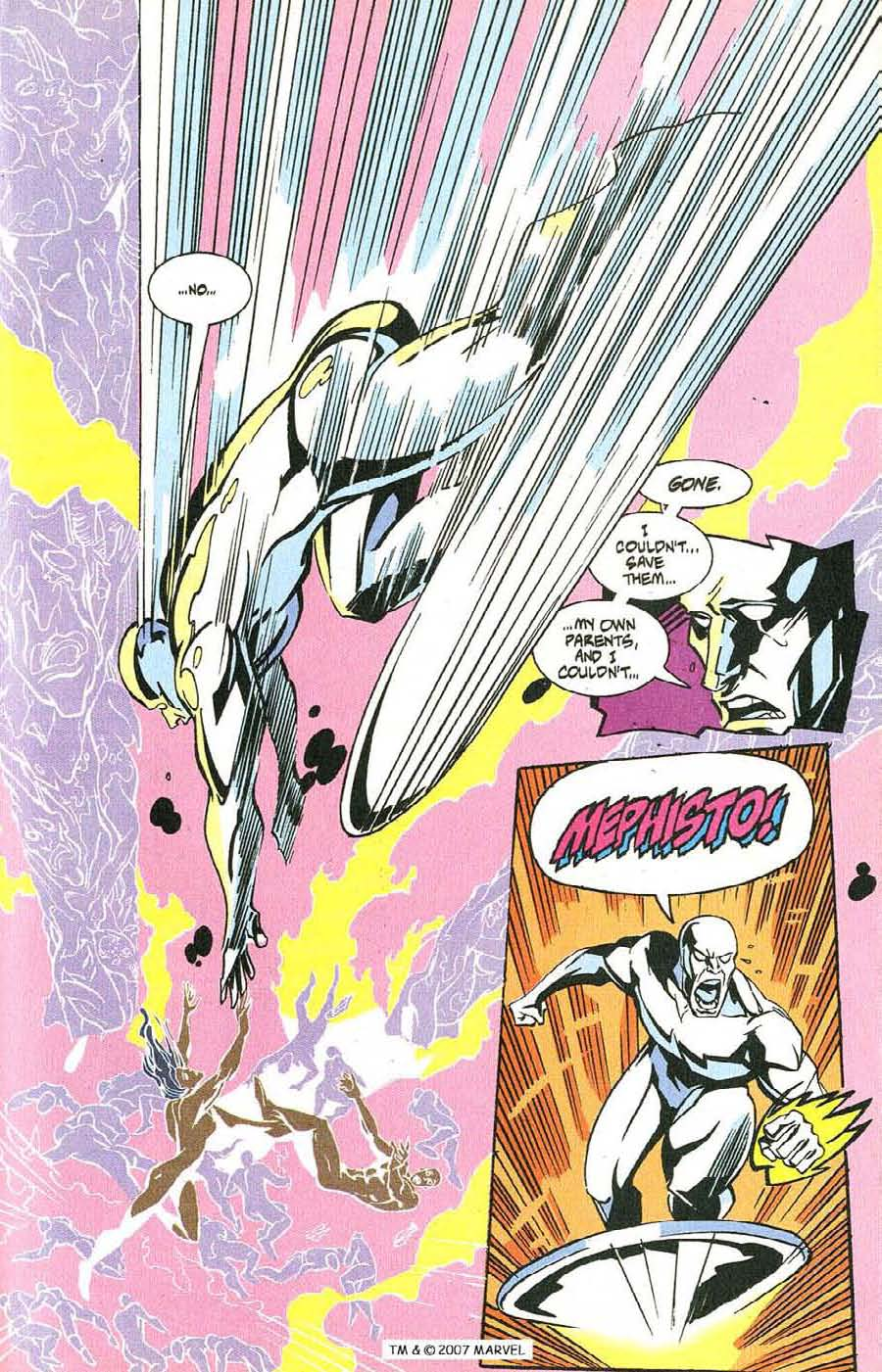 Read online Silver Surfer (1987) comic -  Issue #100 - 31