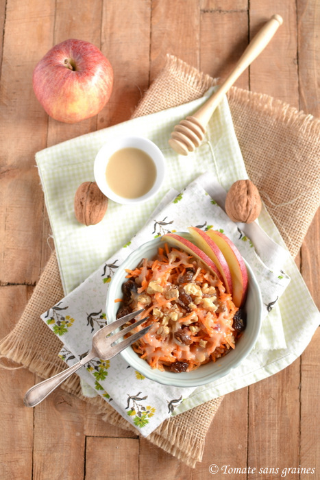 Salade pomme-carotte