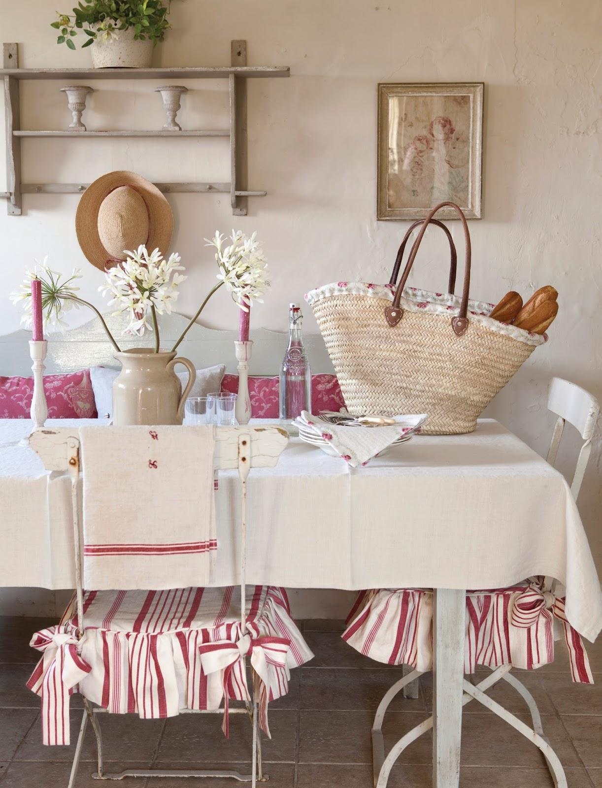 french country kitchen chair cushions wing back recliner slipcover evimi seviyorum kirmizinin en pastel halİ