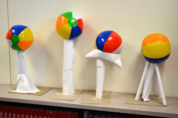 Stem Engineering Beach Ball Towers