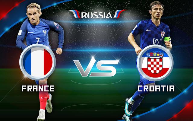 بث مباشر مباراة فرنسا Vs كرواتيا FRANCE VS CROATIA