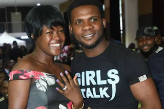 BBNaija : Contestant Proposes To Girlfriend At The Lagos Audition Venue