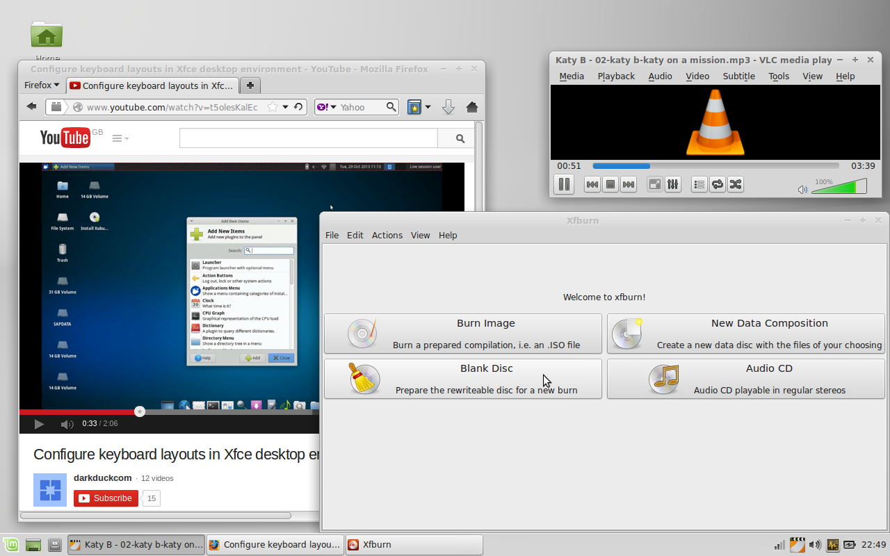 Linux Mint Multimedia
