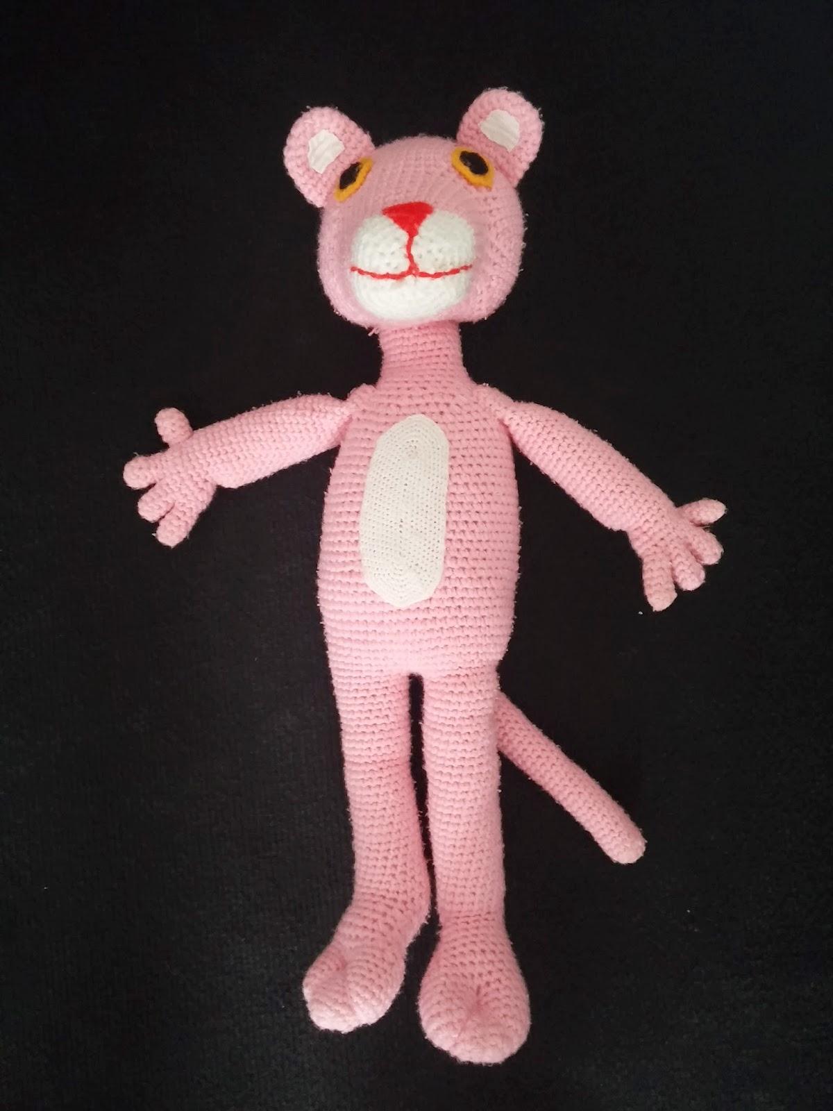 Pembe panter oyuncak - Sahibinden El Örgüsü Oyuncak & Amigurumi ... | 1600x1200