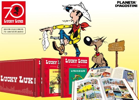 Colección Lucky Luke 70 Aniversario de Planeta DeAgostini