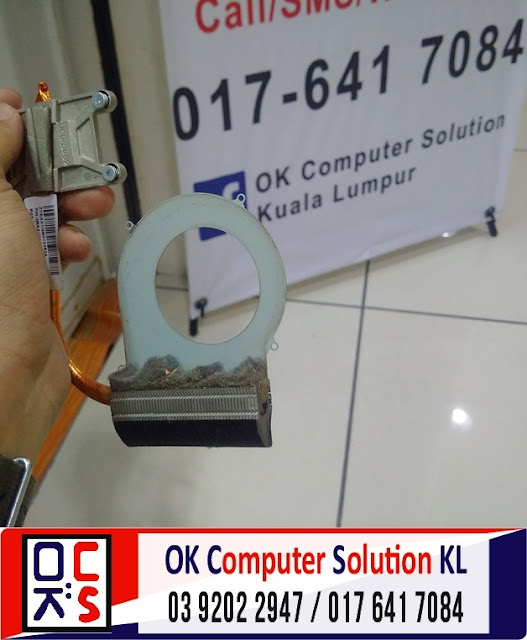 [SOLVED] SERVIS LAPTOP HP COMPAQ CQ42 | REPAIR LAPTOP CHERAS 7