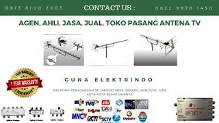Agen Pasang Antena TV Cipadu