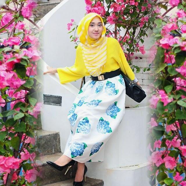 Desain Busana Muslim Wanita Karir Terpopuler