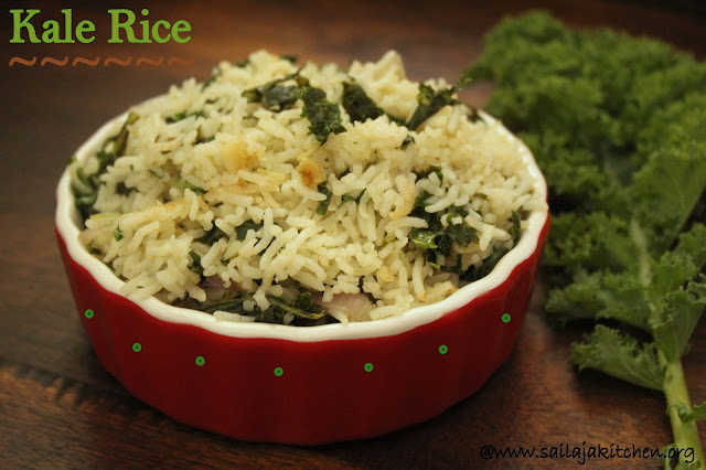 images of Kale Rice / Easy Kale Rice / Simple and Quick Kale Rice / Sauteed Kale with Rice / Rice Recipes