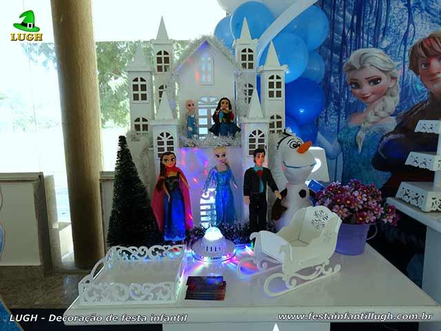 Ornamentação Frozen - aniversário infantil