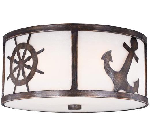 Nautical Flush Mount Ceiling Lamp