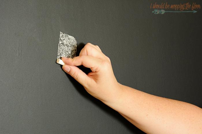 Prepping a Chalkboard