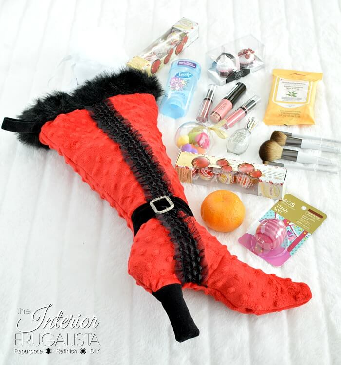 High Heel DIY Stocking And Stocking Stuffer Ideas