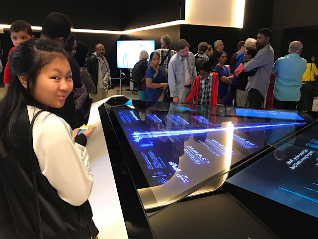 Interactive display of Burj Khalifa