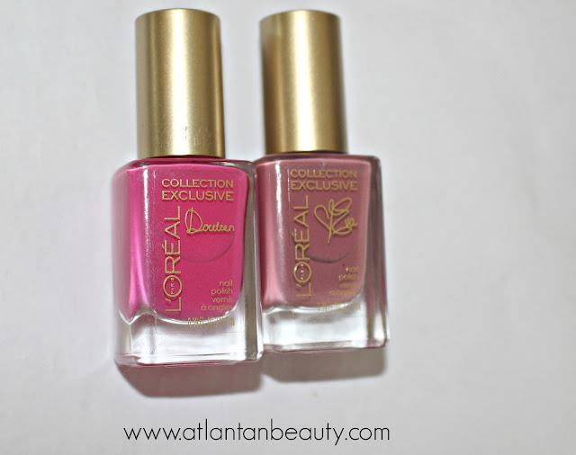 L'Oreal Colour Riche Collection Exclusive Pinks