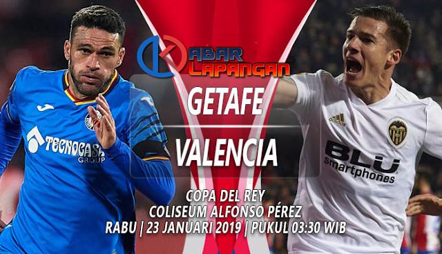 Prediksi Bola Getafe vs Valencia Copa Del Rey