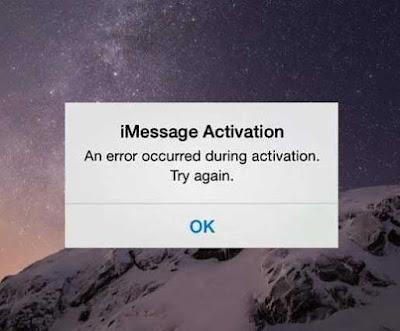 "Cara Perbaiki Error iMessage ""Waiting for Activation"" di iOS 7/8/9"